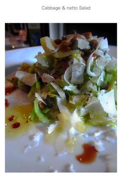 Cabbage and Natto Salad