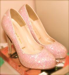pink glitter petites