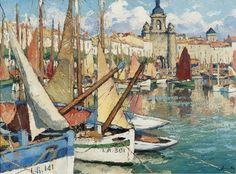 Gaston Balande - The Port of La Rochelle -