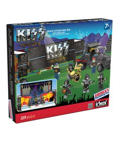 Look at this #zulilyfind! Kiss Rock Stage Big Rig Building Set by KISS #zulilyfinds