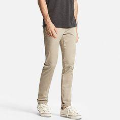 MEN Ultra Stretch Chino Flat Front Pants