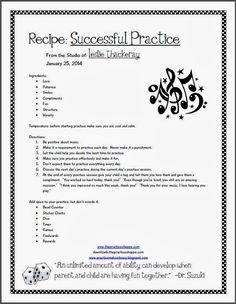 Recipe for a Successful Practice
