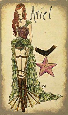 steampunk disney princess cosplay - Google Search