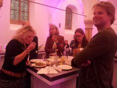 In de kapel. Symposium 'De kunst van het schrijven', Centraal Museum, Utrecht, 29-11-2013.