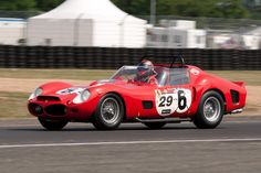 Ferrari 330 TRI/LM (Chassis 0808 - 2010 Le Mans Classic) High Resolution Image