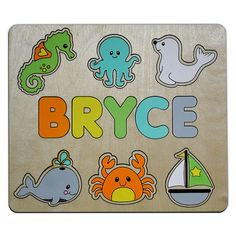 My little ducklings wooden numbers puzzle with farm animals sheep off the shore personalized wooden name puzzle childs custom puzzle for toddlers personalized baby gift negle Choice Image