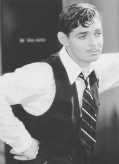 Clark Gable in Dancing Lady (Robert Z Leonard, 1933)