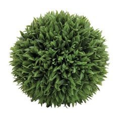 Cole & Grey Plastic Grass Ball Topiary