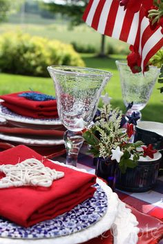 Memorial Day Table