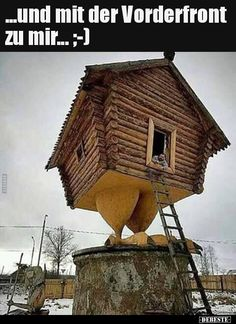 Funny pictures about Chicken House. Oh, and cool pics about Chicken House. Also, Chicken House photos. Unusual Buildings, Interesting Buildings, Amazing Buildings, Interesting Stuff, Crazy Houses, Little Houses, Tiny Houses, Nachhaltiges Design, House Design