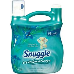 I'm learning all about Snuggle Exhilarations Fabric Softener Liquid at @Influenster!