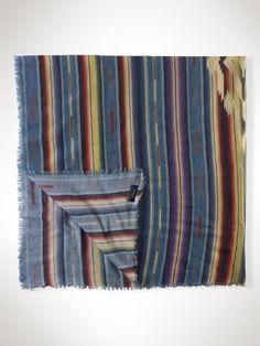 Serape-Inspired Cotton Scarf - Polo Ralph Lauren Scarves - RalphLauren.com