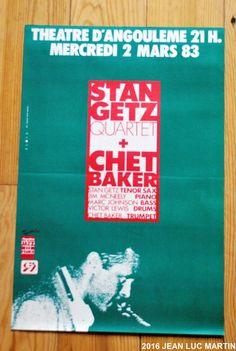 QUI SE SOUVIENT DU CONCERT DE CHET BAKER AVEC STAN GETZ EN 1983 ?