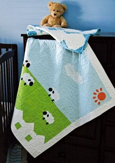 Baby lamb Quilt Patterns | ... of Baby Quilt Patterns: Free (and adorable!) sheep baby quilt pattern