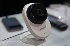 Samsung's SmartCam HD DIY security cameras do 1080p video indoors or outdoors