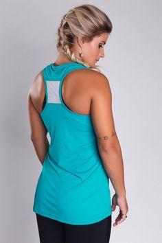 Regata Mara Perey Verde - Empírica Fitness