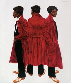 Barkley L. Hendricks, Sir Charles, Alias Willie Harris, 1972.