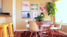 MissGlamorazzi (Ingrid Nilsen) Home Makeover PART 1: Dining Room