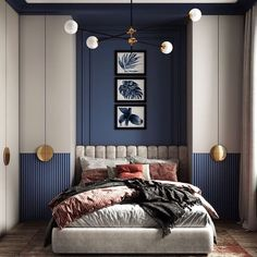 Inspirational ideas about Interior Interior Design and Home Decorating Style for Living Room Bedroom Kitchen and the entire home. Curated selection of home decor products. Wardrobe Design Bedroom, Room Design Bedroom, Bedroom Styles, Home Bedroom, Bedroom Decor, Quirky Bedroom, 1920s Bedroom, Eclectic Bedrooms, Bedroom Black