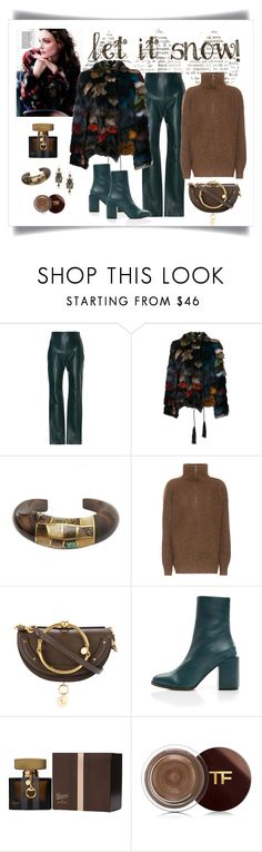 """""""Roberto Cavalli Multicolor Fur Jacket Look"""" by romaboots-1 ❤ liked on Polyvore featuring Leal Daccarett, Munro American, Roberto Cavalli, Niin, Étoile Isabel Marant, Chloé, Gucci, Tom Ford and Alexander McQueen"""