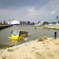 Splashtours, Waterbus,  P&O ferry, Euromast, 010, Rotterdam