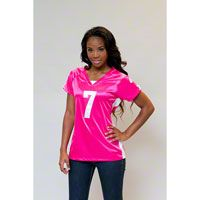 Michael Vick Women's Pink Philadelphia Eagles Draft Him Top