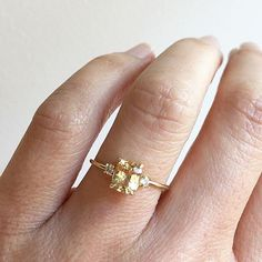 Pin for Later: Go For the Gold — 19 Engagement Rings That Will Make You Feel Like a Winner