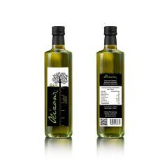 Olive Oil Label Tzinis Panagiotis