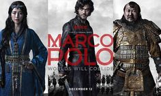 So sad that we blew through season 1 so quickly!  Marco Polo, Netflix Original!!