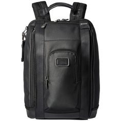 Tumi Alpha Bravo - Edwards Backpack (Reflective Silver) Backpack Bags ($445) ❤ liked on Polyvore featuring bags, backpacks, pocket backpack, travel bag, laptop bags, laptop backpack and ipad backpack