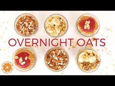 Overnight Oats 3 Ways | Healthy Fall & Back To School Breakfast Ideas | Healthy Grocery Girl - YouTube