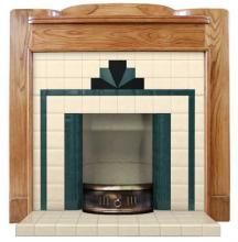 Sunrise Art Deco Fireplace Insert from Twentieth Century Fireplaces. Big collection of Fireplace Accessories from United Kingdom. Also deals in Manufacturer of Sunrise Art Deco Fireplace Insert 1930s Fireplace, Art Deco Fireplace, Fireplace Design, Tiled Fireplace, Bedroom Fireplace, Art Nouveau, Best Electric Fireplace, Blog Art, Art Deco Tiles