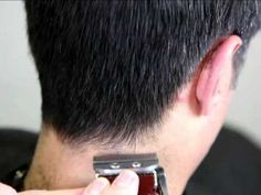 Mens Clipper Cutting -Learn how to cut and blend mens hair with clippers and scissors...I better intervene before next time.