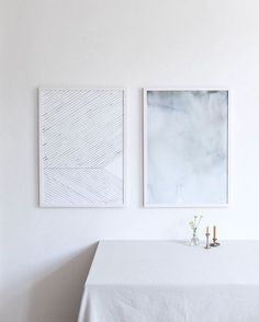 "silver-blonde: ""via silkebonde "" Doodle Paint, White Spirit, Floor Art, Green Art, Architecture, Floating Nightstand, Watercolor Art, Wall Art Prints, Art Pieces"