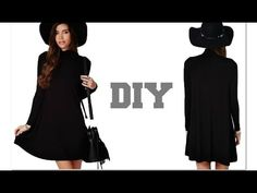 ▶ DIY Fall Essential: Turtleneck Blouse - YouTube