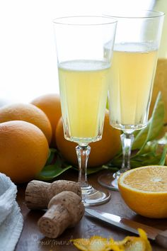 Grand Mimosa Recipe from gourmandeinthekitchen.com