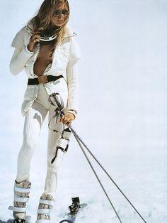HORS PISTE -  Photographer: Mikael Jansson  Magazine: Vogue Paris  Model: Iselin Steiro