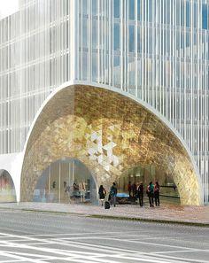 Schmidt Hammer Lassen Architects Wins Prestigious Hotel Complex in Munich