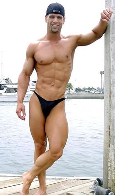 Big muscle bodybuilder beefcake Matt Lowden has such an amazing body... I am drooling. Check out these 7 pics and appreciate him as much as I do. Geez I want his abs. And quads!