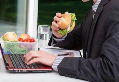 52% never leave the office at lunchtime #HR