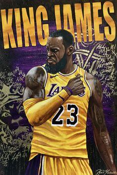 Basketball Art, Basketball Pictures, Basketball Players, Nba Players, King Lebron James, Lebron James Lakers, King James, Lebron James Wallpapers, Nba Wallpapers