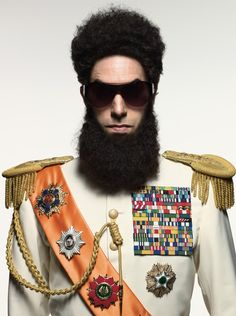 The Dictator by Mark Seliger