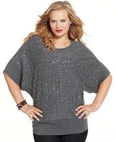 Plus size model Tara Lynn wearing the beautiful midnight blue ...