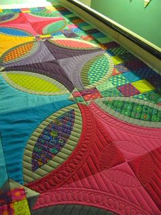 I'm making progress on Sharon's quilt.  It's not going as quickly as I would like it to go but I do love...