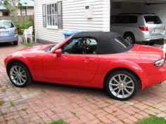 My current 2005 NC with black leather, owned it 4 years now with not one issue...... except ........batteries keep going flat from not using it enough !. I owned both an NB and an NC together for a short time and theres no comparison, more power, handling, comfort. But the biggest improvement is the hood, now a one handed operation up or down, while doing 30 Km/hr. I now have a trickle charger to keep the battery topped up.