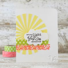 Card by Laurie Willison using Let it Be from Verve.  #vervestamps