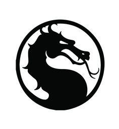 Mortal Kombat Vinyl Decal Logo for Car Truck Computer Phone Game Console Wall Mortal Kombat Tattoo, Mortal Kombat Art, Courage The Cowardly Dog, Mortal Combat, Scroll Saw Patterns, Stencil Art, Pyrography, Holographic, Game Art