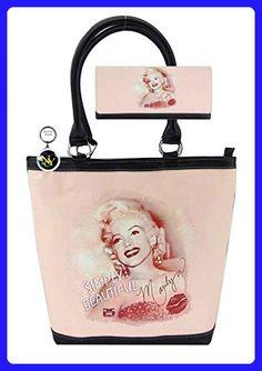 Marilyn Monroe Large Purse Wallet Set, Simply Beautiful - Shoulder bags (*Amazon Partner-Link)