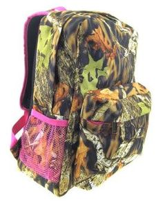 Personalized S Camo Backpack Bookbag By Kozykidzboutique 29 95 Pink