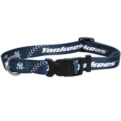 New York Yankees MLB Licensed Dog Collar